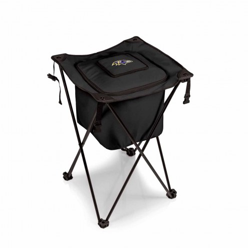 Baltimore Ravens Black Sidekick Portable Cooler