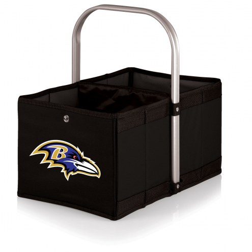 Baltimore Ravens Black Urban Picnic Basket