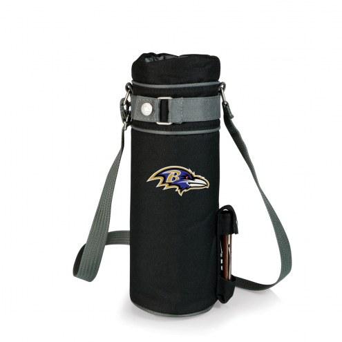 Baltimore Ravens Black Wine Sack