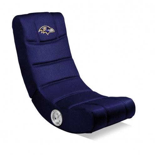 Baltimore Ravens Bluetooth Gaming Chair