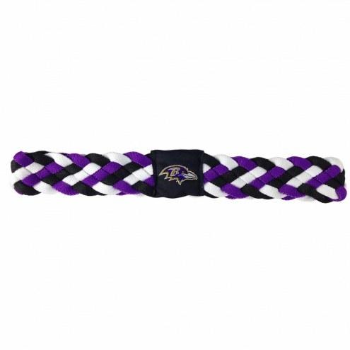 Baltimore Ravens Braided Head Band
