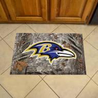 Baltimore Ravens Camo Scraper Door Mat