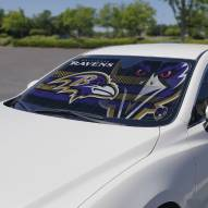 Baltimore Ravens Car Sun Shade