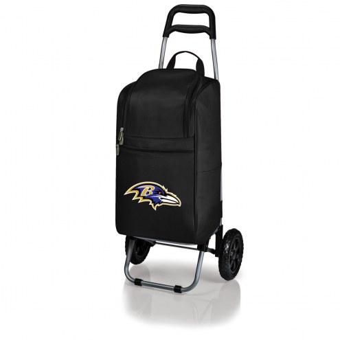 Baltimore Ravens Cart Cooler