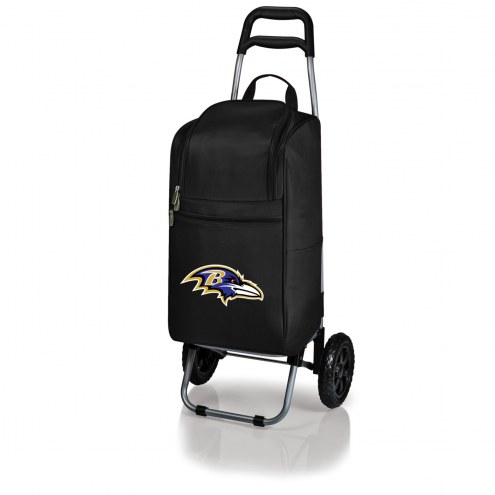 Baltimore Ravens Cart Cooler