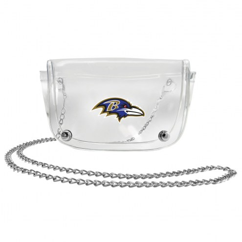 Baltimore Ravens Clear Waistpack