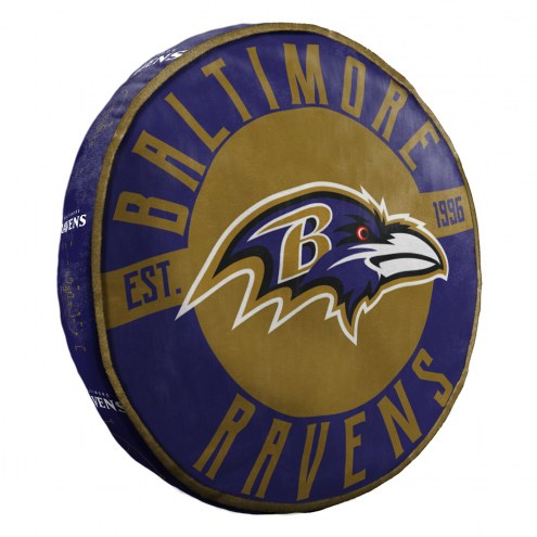 Baltimore Ravens Cloud Travel Pillow