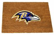 Baltimore Ravens Colored Logo Door Mat