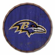 "Baltimore Ravens Cracked Color 24"" Barrel Top"