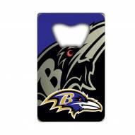 Baltimore Ravens Credit Card Style Bottle Opener