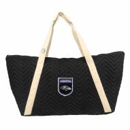 Baltimore Ravens Crest Chevron Weekender Bag