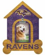 Baltimore Ravens Dog Bone House Clip Frame
