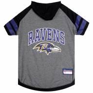 Baltimore Ravens Dog Hoodie Tee