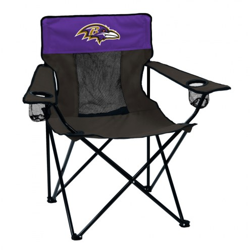 Baltimore Ravens Elite Tailgating Chair