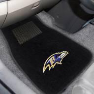 Baltimore Ravens Embroidered Car Mats