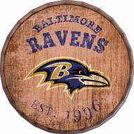 "Baltimore Ravens Established Date 24"" Barrel Top"