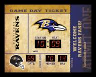 Baltimore Ravens Bluetooth Scoreboard Wall Clock