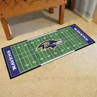 Baltimore Ravens Football Field Runner Rug