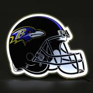 Baltimore Ravens Football Helmet LED Lamp