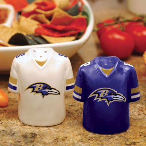 Baltimore Ravens Gameday Salt and Pepper Shakers