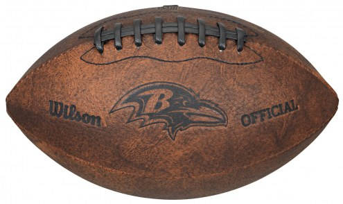Baltimore Ravens Vintage Throwback Football