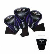 Baltimore Ravens Golf Headcovers - 3 Pack