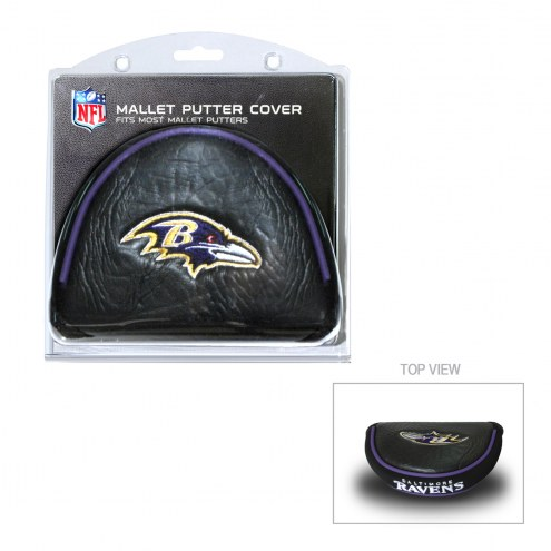 Baltimore Ravens Golf Mallet Putter Cover