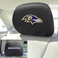 Baltimore Ravens Headrest Covers