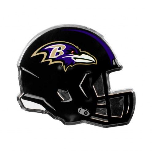 Baltimore Ravens Helmet Car Emblem
