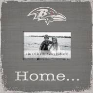 Baltimore Ravens Home Picture Frame