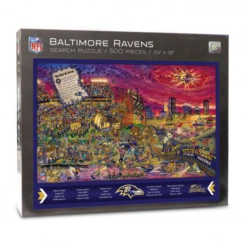 Baltimore Ravens Joe Journeyman Puzzle