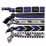 Baltimore Ravens Knotted Hair Tie