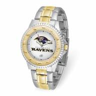 Baltimore Ravens Competitor Two-Tone Men's Watch