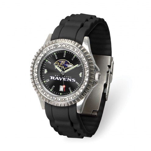 Baltimore Ravens Sparkle Women's Watch