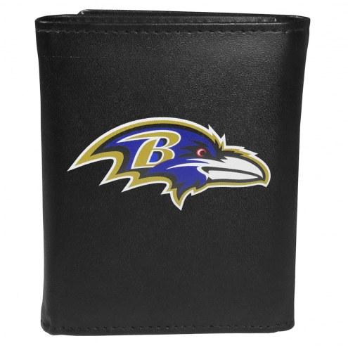 Baltimore Ravens Large Logo Tri-fold Wallet