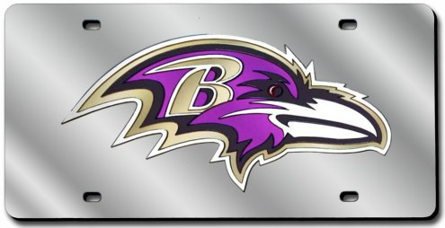 Baltimore Ravens Laser Cut License Plate