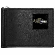 Baltimore Ravens Leather Bill Clip Wallet