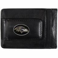 Baltimore Ravens Leather Cash & Cardholder