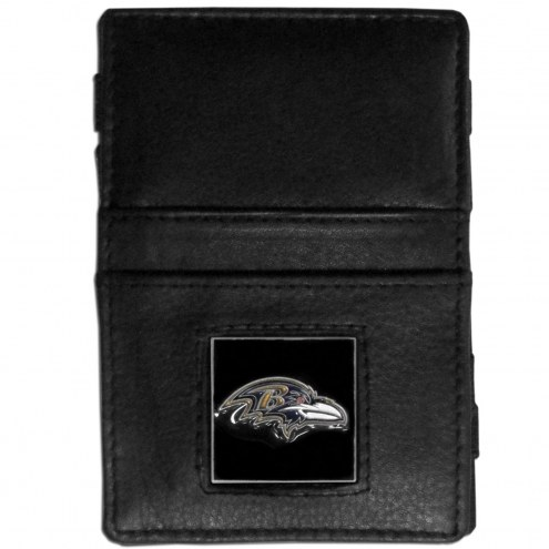 Baltimore Ravens Leather Jacob's Ladder Wallet