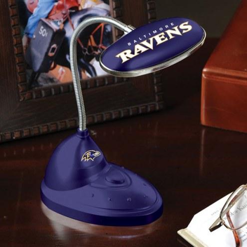 Baltimore Ravens LED Desk Lamp