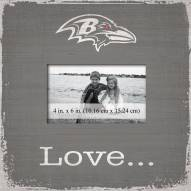Baltimore Ravens Love Picture Frame