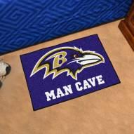 Baltimore Ravens Man Cave Starter Mat