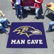 Baltimore Ravens Man Cave Tailgate Mat