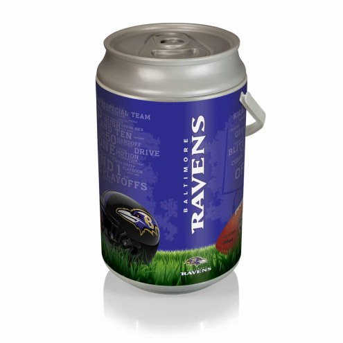 Baltimore Ravens Mega Can Cooler