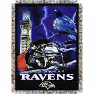 Baltimore Ravens NFL Woven Tapestry Throw