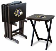 Baltimore Ravens NFL TV Trays - Set of 4