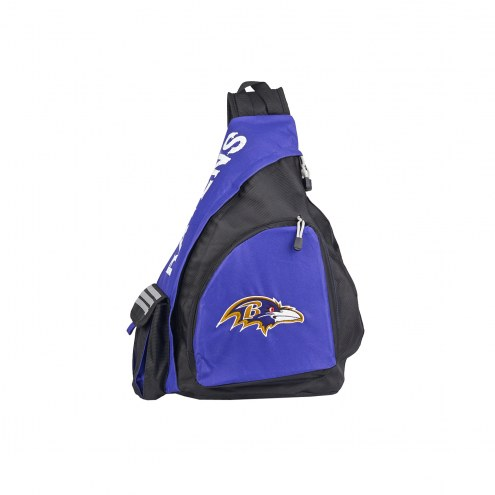Baltimore Ravens Leadoff Sling Backpack