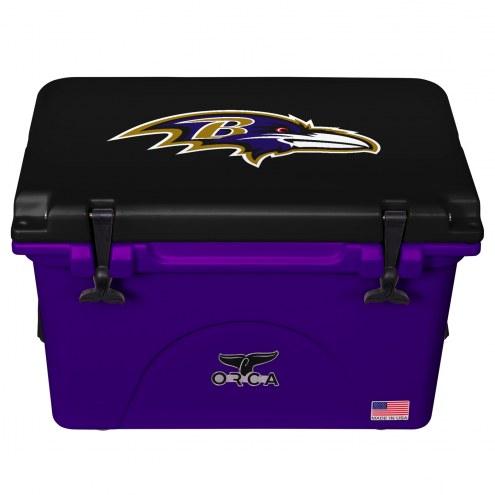 Baltimore Ravens ORCA 40 Quart Cooler