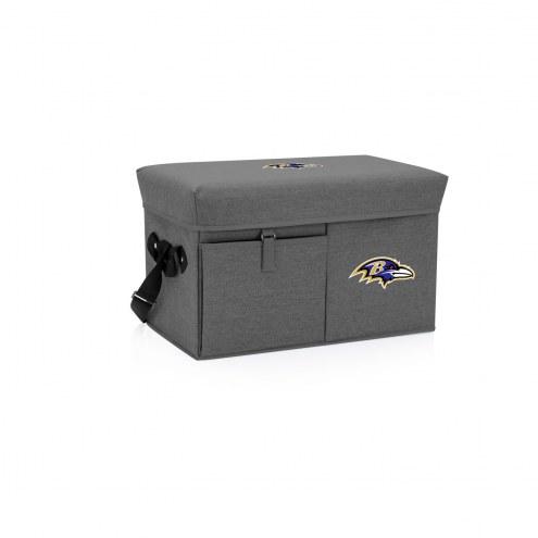 Baltimore Ravens Ottoman Cooler & Seat