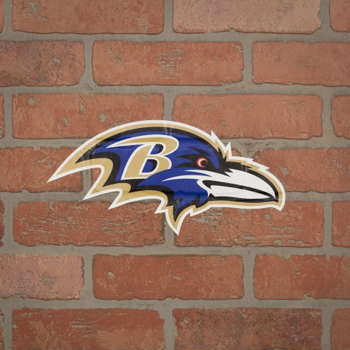 Baltimore Ravens Outdoor Logo Graphic